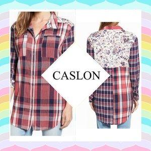 Caslon by Nordstroms Flannel Shirt